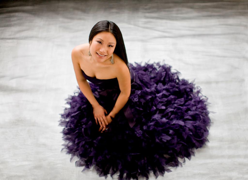 Xiayin Wang thrilled the audience at Kaye Playhouse on Friday, July 30 2016